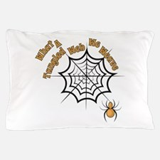 A Tangled Web Pillow Case