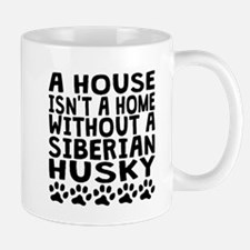 Without A Siberian Husky Mugs