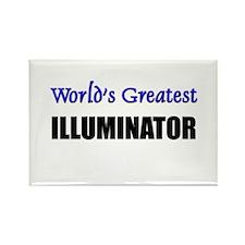 Worlds Greatest ILLUMINATOR Rectangle Magnet
