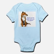 Trust in the Lord Thylacine Body Suit