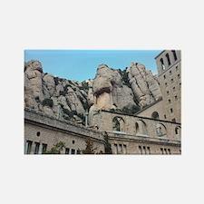 Unique Montserrat Rectangle Magnet