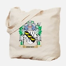 Cheney Coat of Arms - Family Crest Tote Bag