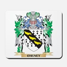 Cheney Coat of Arms - Family Crest Mousepad