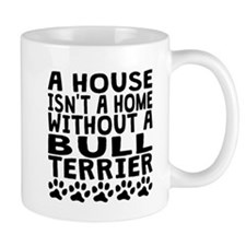 Without A Bull Terrier Mugs