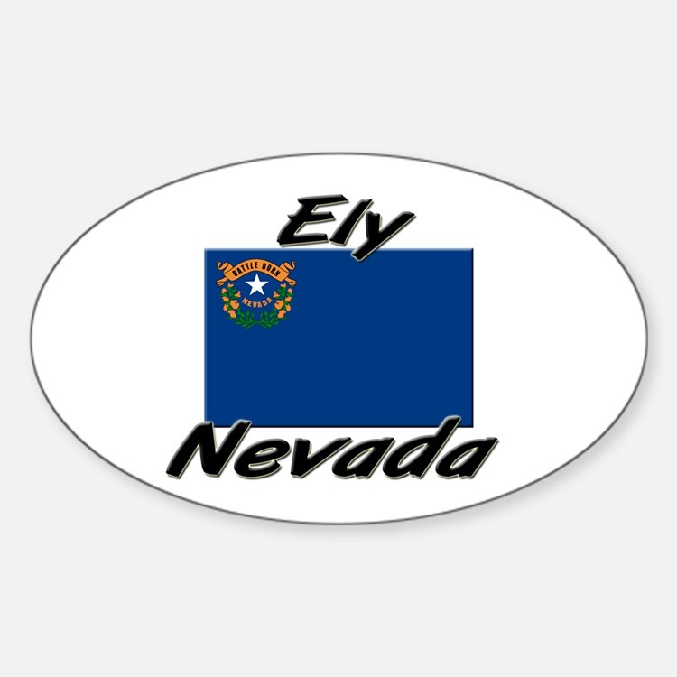 Ely Nevada Oval Decal