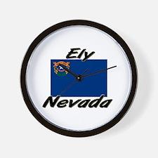 Ely Nevada Wall Clock