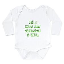 Cute Fun Long Sleeve Infant Bodysuit