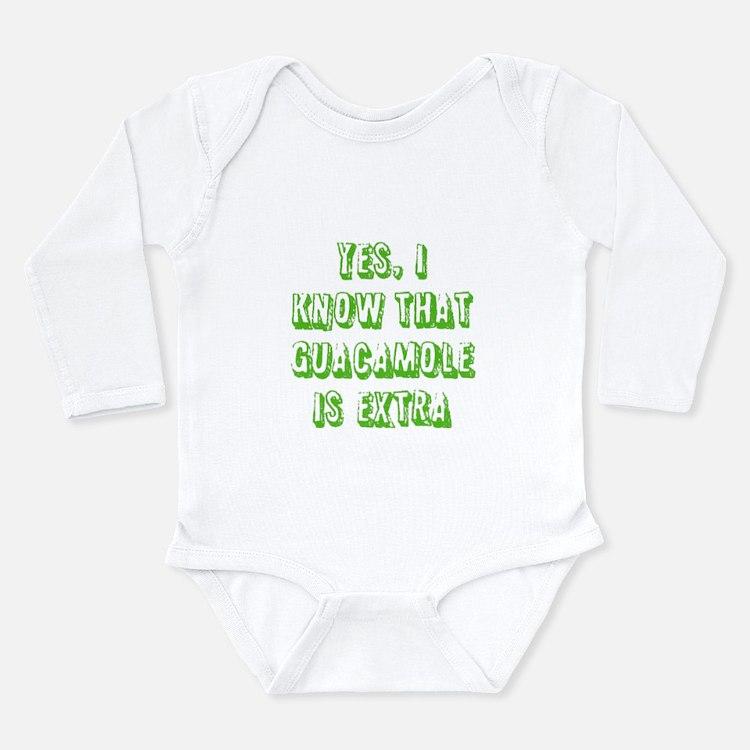 Cute Anyone Long Sleeve Infant Bodysuit