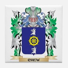 Chew Coat of Arms - Family Crest Tile Coaster