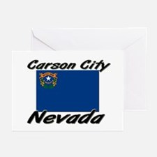 Carson City Nevada Greeting Cards (Pk of 10)