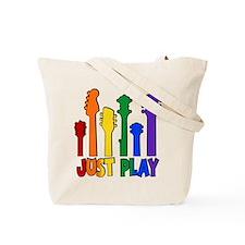JUST PLAY (both sides) Tote Bag