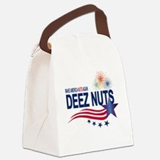 Make America Nuts Again Canvas Lunch Bag