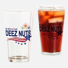 Make America Nuts Again Drinking Glass