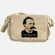 Nietzsche - Art v. Reality Messenger Bag