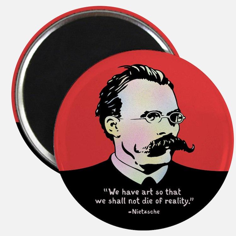 Nietzsche - Art v. Reality Magnet