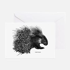 Crested Porcupine Greeting Cards (Pk of 10)