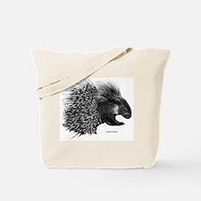 Crested Porcupine Tote Bag