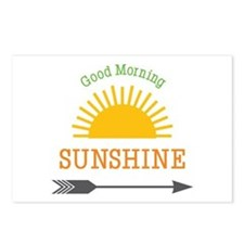 Good Morning Sunshine Postcards (Package of 8)