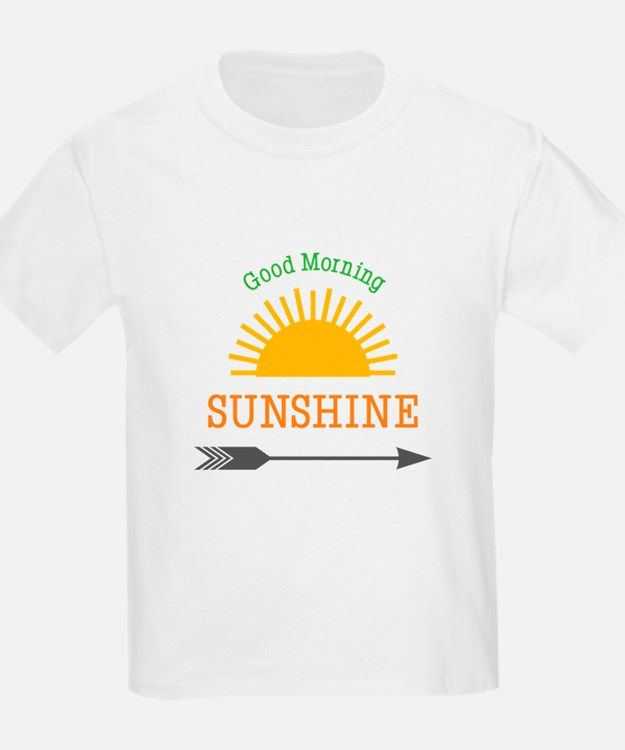 Good Morning Sunshine Tee : Good morning sunshine kid s clothing