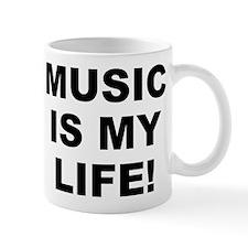 Music Is My Life! Small White Mug Mugs