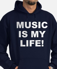 Music Is My Life! Men's Hoodie