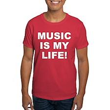 Music Is My Life! Men's T-Shirt