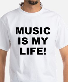 Music Is My Life! Men's Shirt
