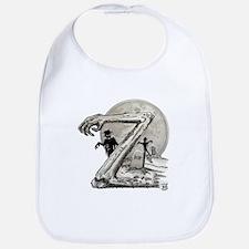 Z is for Zombies Bib