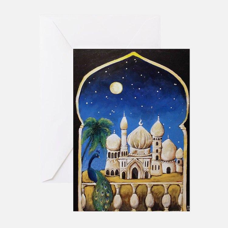 Arabian Nights Greeting Cards