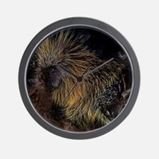 Porcupine! Wall Clock