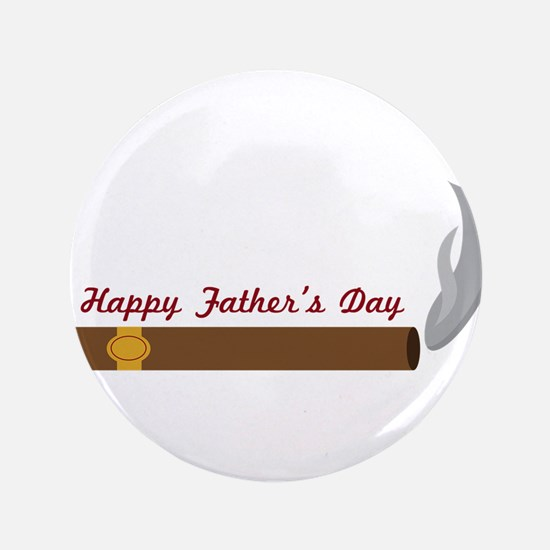 Fathers Day Cigar Button