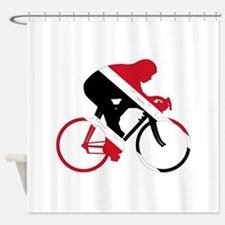 Trinidad and Tobago Cycling Shower Curtain