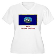 Maine State Flag T-Shirt