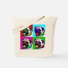 Warhols Pug Tote Bag