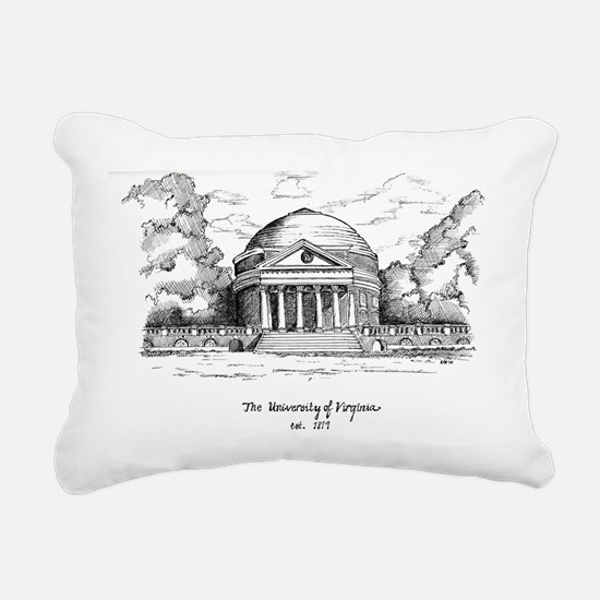 rotunda Rectangular Canvas Pillow