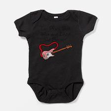 Cute Bass cartoon Baby Bodysuit