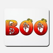 Boo Halloween Gifts and Decorations Mousepad