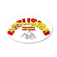 Spain Cycling Wall Sticker