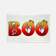 Boo Halloween Gifts and Decorations Rectangle Magn