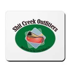 Shit Creek Paddles Mousepad