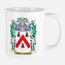 Christopher Coat of Arms - Family Crest Mugs