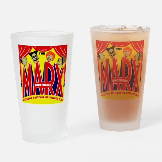 Cute Marx brothers Drinking Glass
