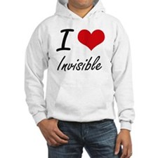 I Love Invisible Hoodie