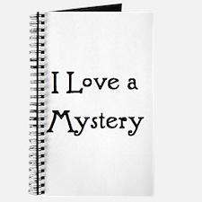 i love a mystery Journal