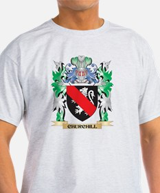 Churchill Coat of Arms - Family Crest T-Shirt