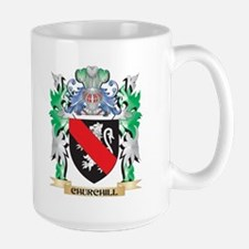 Churchill Coat of Arms - Family Crest Mugs
