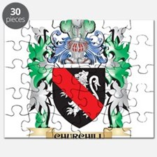 Churchill Coat of Arms - Family Crest Puzzle