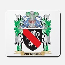 Churchill Coat of Arms - Family Crest Mousepad