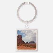 Monument Valley, Utah 3 Square Keychain