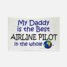 Best Airline Pilot In The World (Daddy) Rectangle